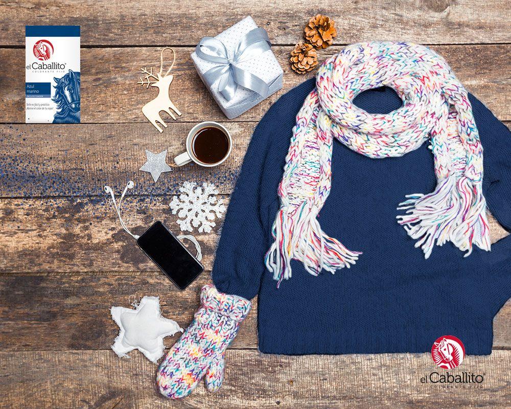 Usa tu suéter cuantas veces quieras devolviéndole su color original con Colorantes en Polvo el Caballito. http://bit.ly/2e82Mly