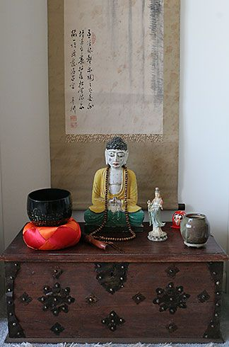 Photos Of Buddhist Alters An Altar Cloth Here Friends Is My Little Home Altar Alters