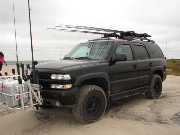 Modded For Surf Fishing Lifted Chevy Tahoe Chevy Tahoe Lifted Chevy Trucks