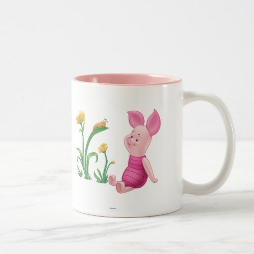 Piglet 2 Two-Tone coffee mug | Zazzle.com #disneycoffeemugs
