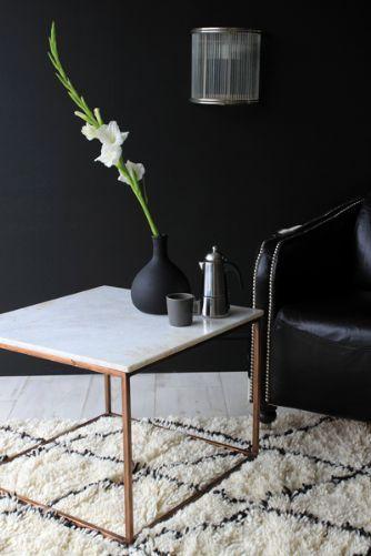 Rockett St George Marble Top Copper Square Coffee Table Www Rockettstgeorge Co