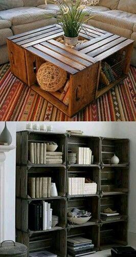 Buenas ideas | Closet ideas | Pinterest | Mesas de café de ventana ...