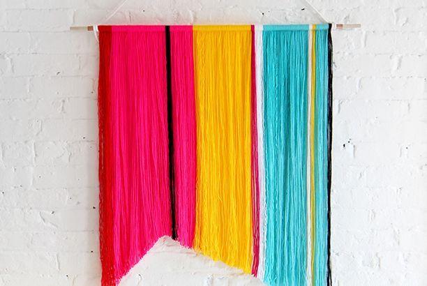 DIY con lana de colores