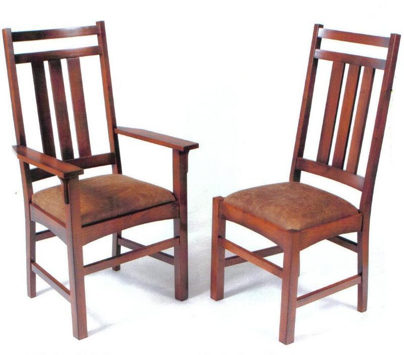 Dutchcrafters Mission Dining Room Chairs Are Proudly Handcrafted In American Using Beautiful Solid Oak And Dining Chairs Wood Dining Chairs Metal Dining Chairs Solid wood dining room chairs