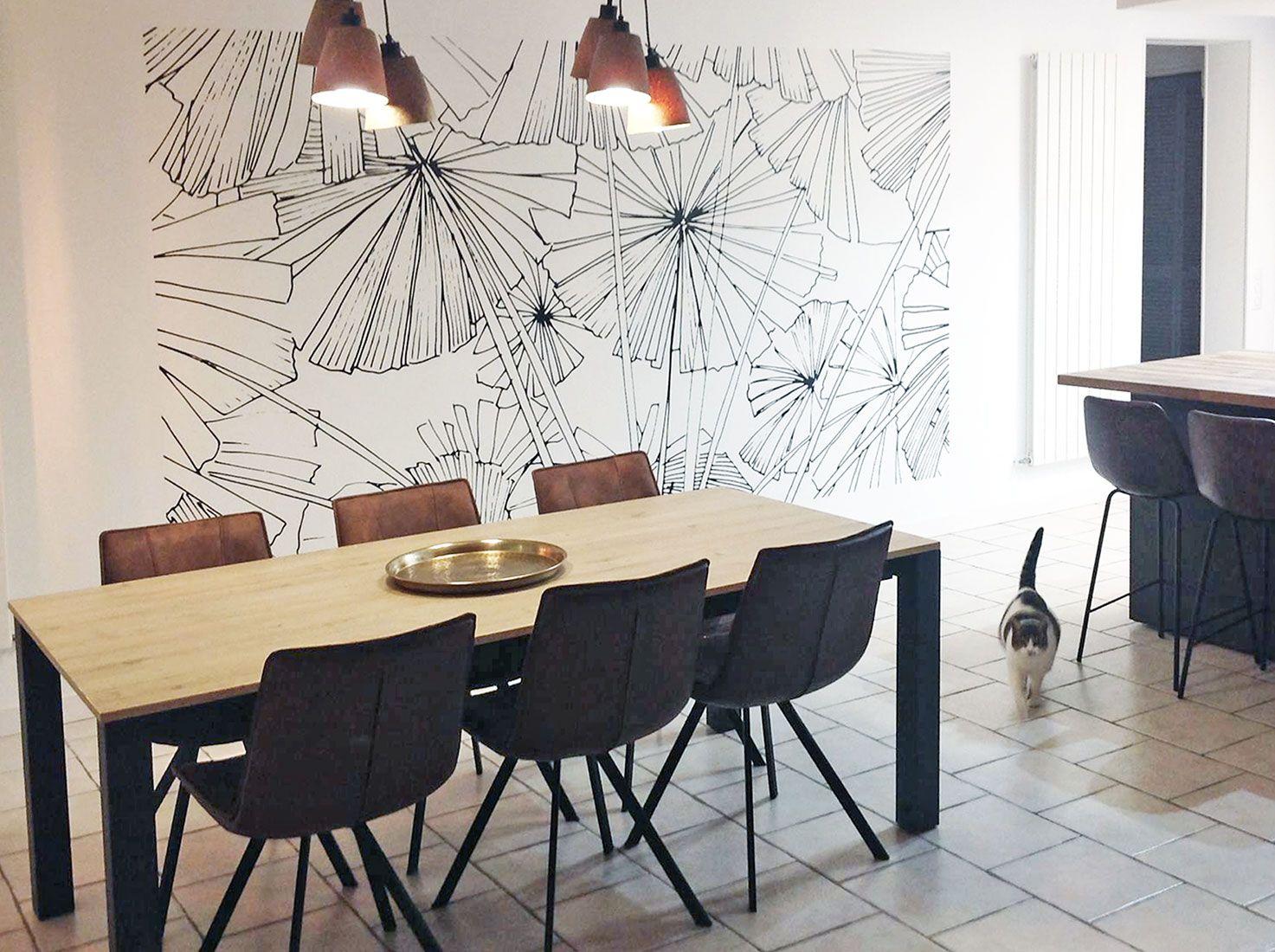 Idee Tapisserie Salle A Manger Épinglé par valérie vanthuyne sur christelle | papier peint
