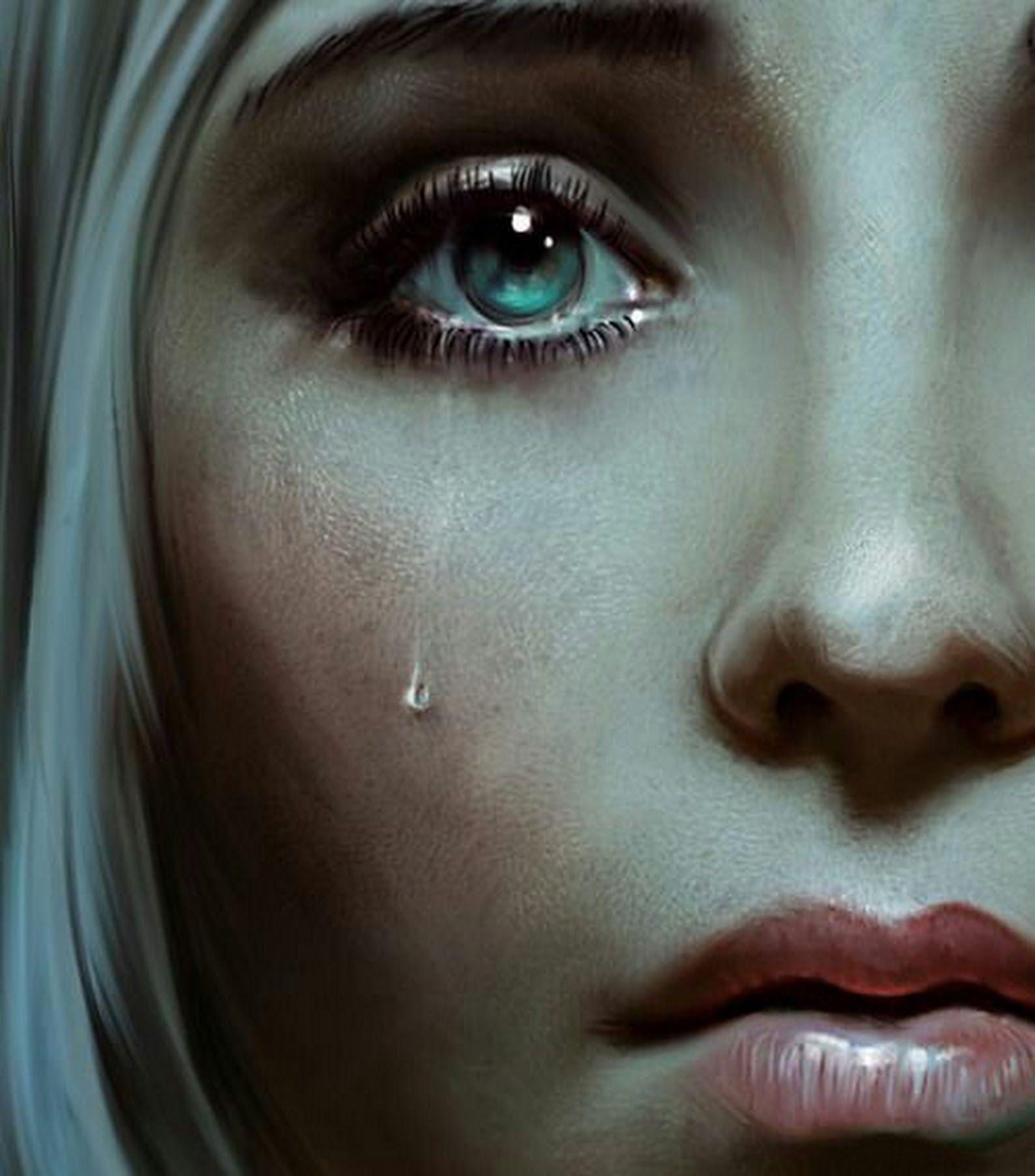 будет предложен слезы на лице фото рисунки ее, если