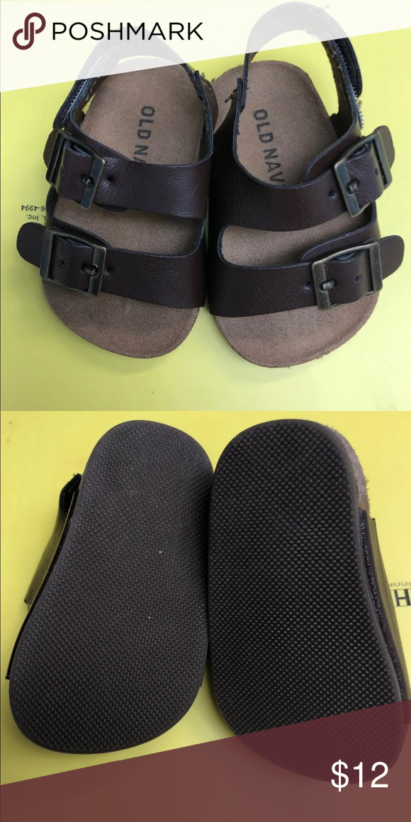 Super Cute And Perfect For Summer Baby Boy Or Girl Birkenstock Style Sandal Old Navy Shoes Sandals Flip Flops Navy Shoes Birkenstock Style Super Cute