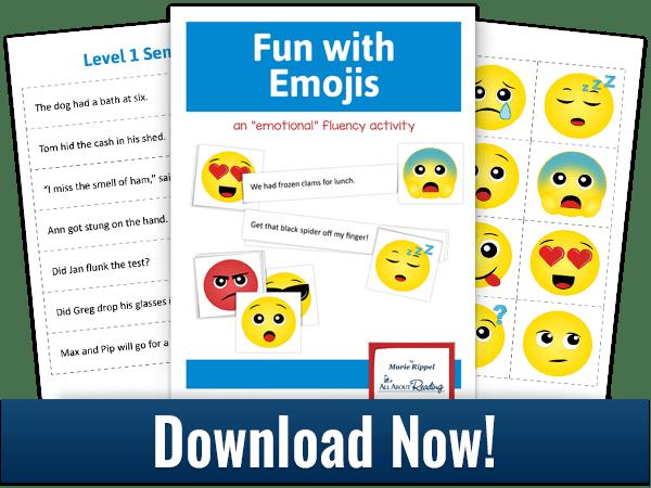 Download Fun With Emojis Activity Fluency Activities Activities Fluency