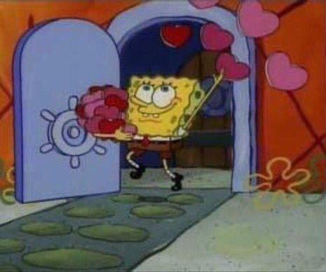 Me On Valentines Day Spongebob Pics Spongebob Memes Memes