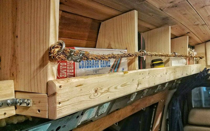 Photo of 11 Space-Saving Storage Ideas for a DIY Van Conversion