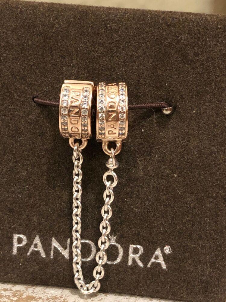 pandora bracelet rose gold ebay