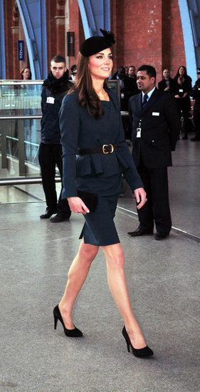 Princess Catherine Loves Her Black Court Shoes Black Court Shoes