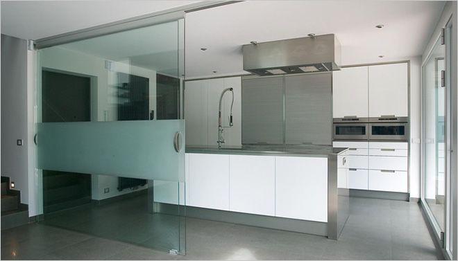 ... Glas : Open Keuken Lay Outs op Pinterest Herenhuis Keuken, Keuken