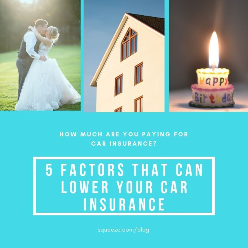 5 factors that can lower your car insurance | Car ...