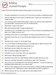anti bullying essay topics
