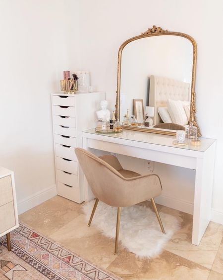 Runway White Lacquer Desk + Reviews curated on LTK