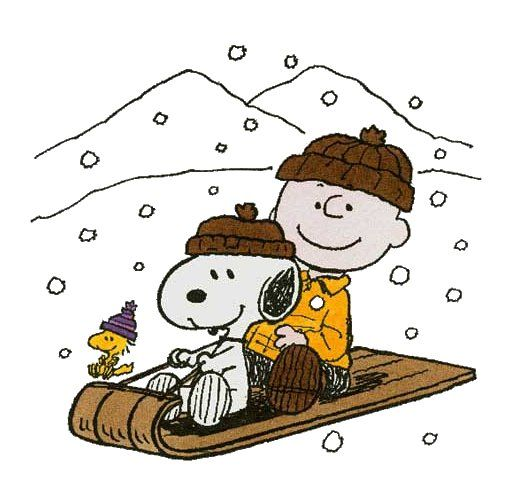 Image result for snoopy and charlie brown winter