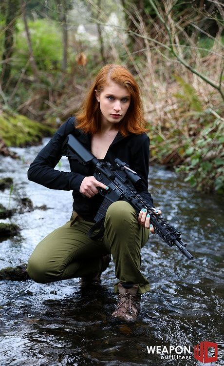 Redhead With A Big Gun Dreams Really Do Come True  The -5135