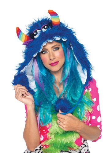 Furry Monster Rave Hoodie! #rave #raves #raving #dj #music #dance #festival #party #clothes #outfits