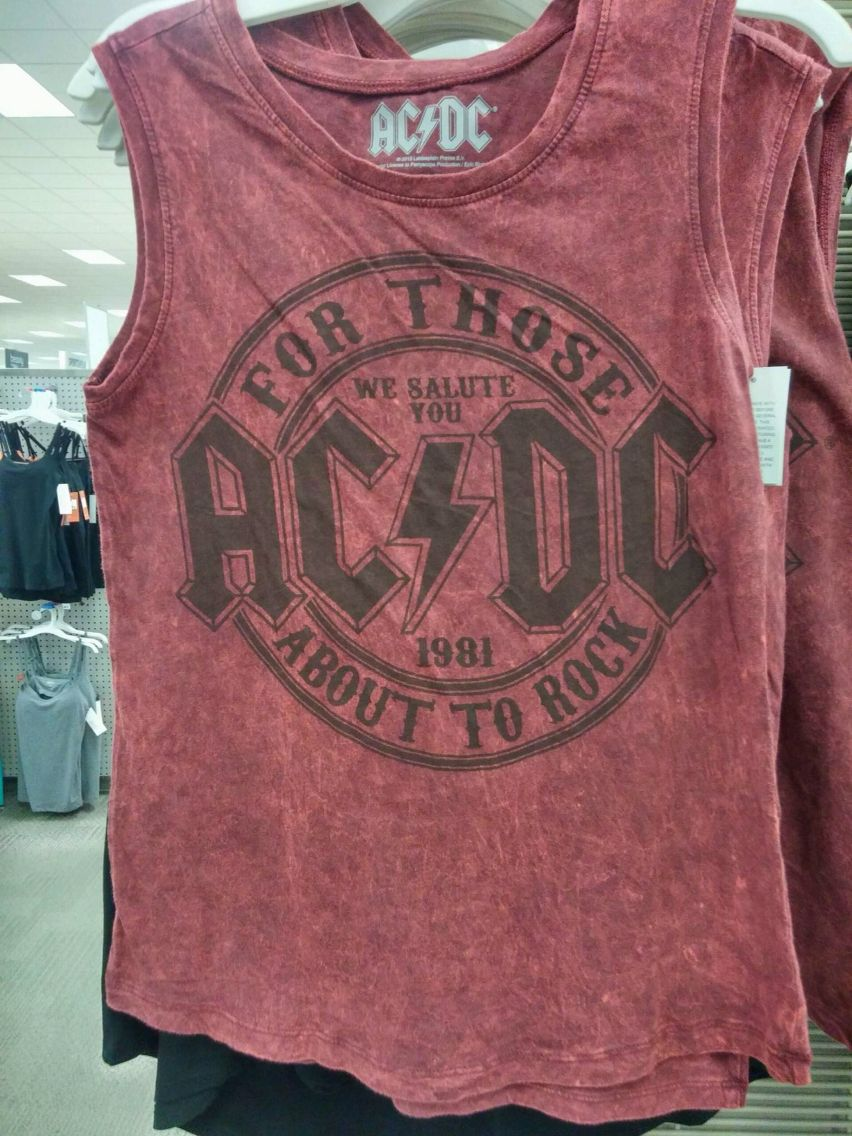 Just A Ac Dc Shirt Quot I Love Rock And Roll Quot Pinterest