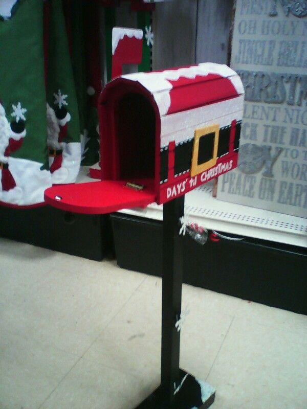 Christmas Wooden Mailbox Decor Hobby Lobby Mailbox Decor Wooden Mailbox Christmas Inspiration