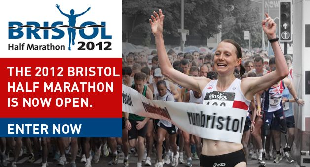 bristol half marathon 2012 - aiming to finish around 2hrs20-30  2013? who knows...<2hrs???