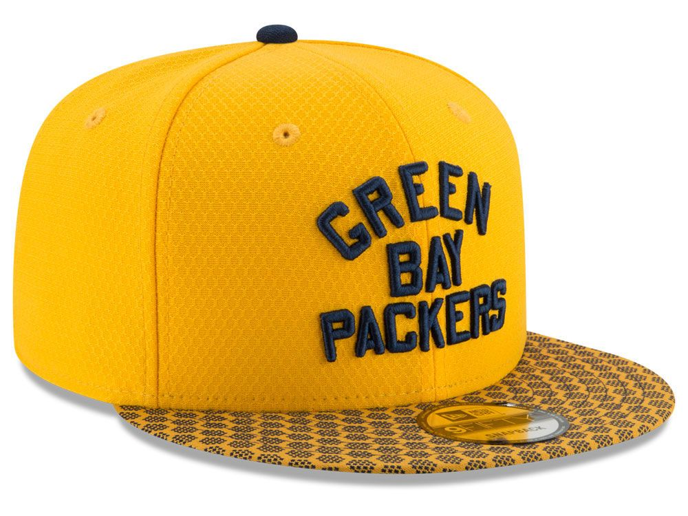 4c5c8de69 ... yellow navy 20916055 5093d 2358e  canada green bay packers new era 2017  official nfl sideline 9fifty snapback cap 123b4 e9bca