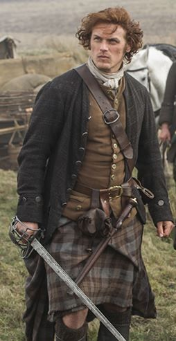 Jamie Fraser just one more fictional character to be head