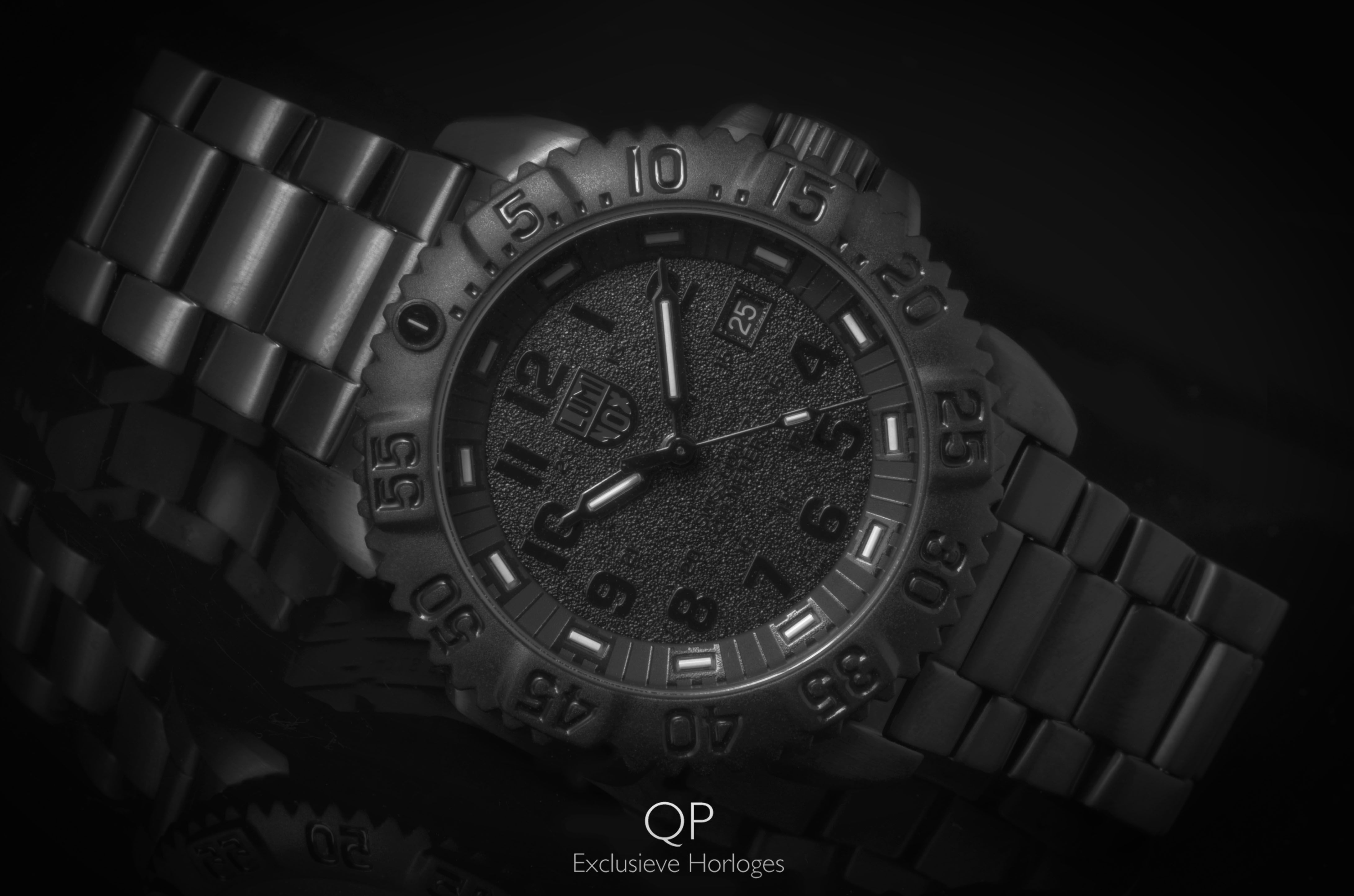 Manly Tough And Military Grade The Stealthy Luminox
