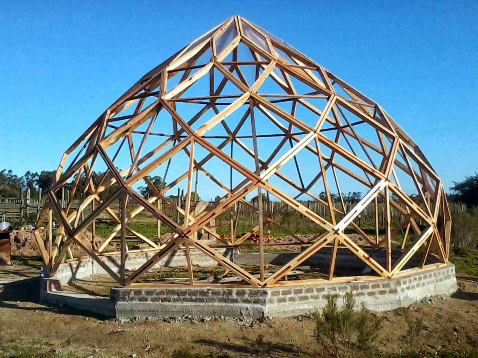Domos uruguay cupula geodesica geom trico pinte - Casas geodesicas ...