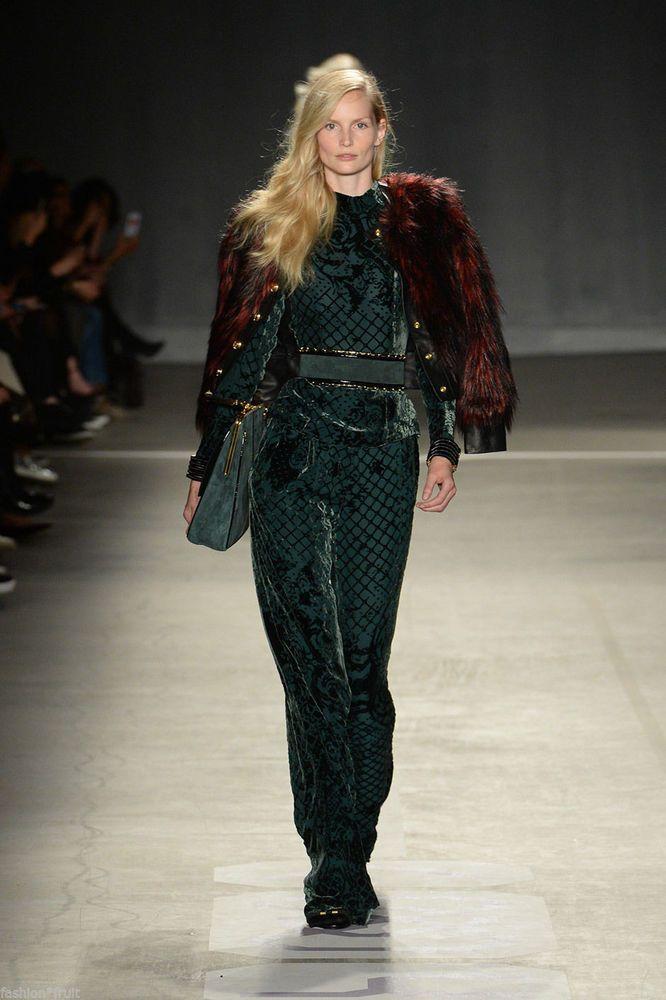 783597eb BALMAIN X H&M Silk Blend Pants New Green Velvet Trousers REAL BARGAIN  #HMConsciousExclusive #DressPants