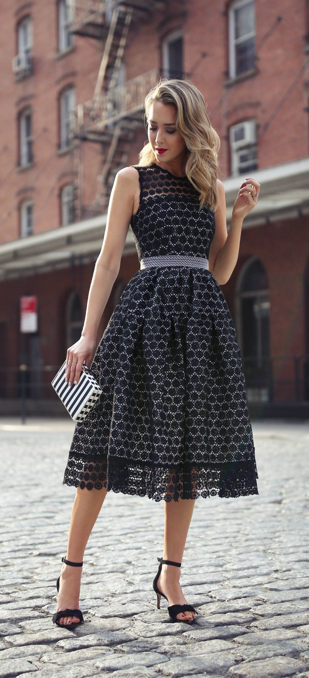 Lace ring dresses
