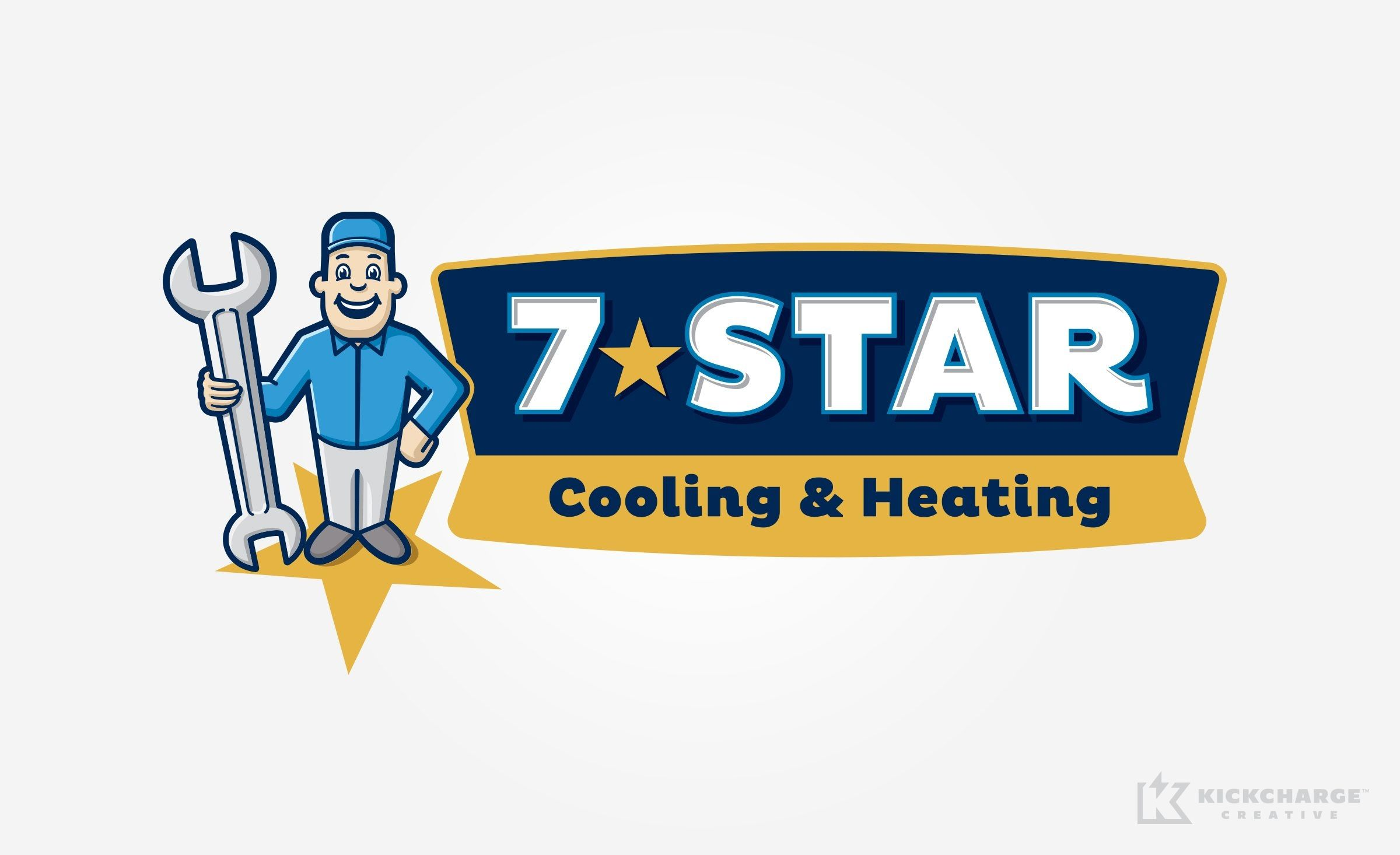 7 Star Cooling Heating Kickcharge Creative