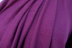 Hemp/Organic cotton knit, Grape Purple