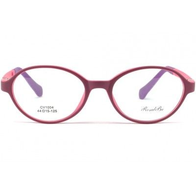 latest fashion 50% price best shoes Monture enfant ronde rose 5 à 7 ans Pony, lunette incassable ...