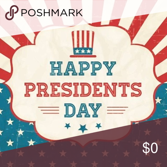 President S Day Sale 2 19 2 20 All Items In My Closet Are At Least 10 Off Bundle Up And Rec Happy Presidents Day Presidents Day Sale Presidents Day