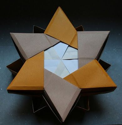 How to make a Paper Star Box for begginers - Origami Star Box ... | 400x389