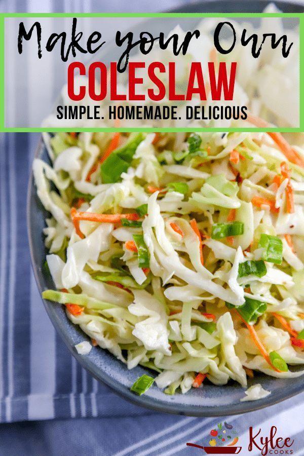 Grundlegende Zutaten machen dieses hausgemachte Krautsalat-Rezept zu einem Kinderspiel! Mit einem cremigen Krautsalat-Dressing ist diese Seite eine willkommene Bereicherung für jeden Tisch.