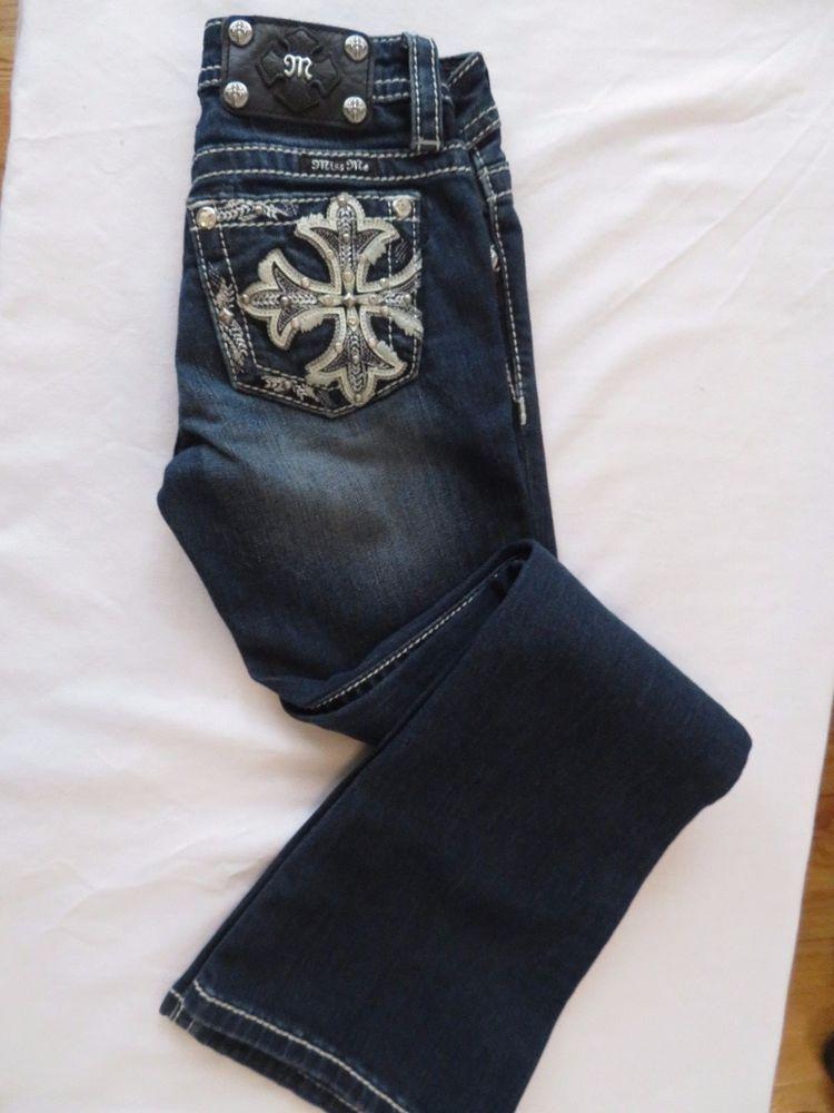 50702cdc7 miss me jeans girls size 8 Style No JK8237B #MissMe #BootCut #Everyday