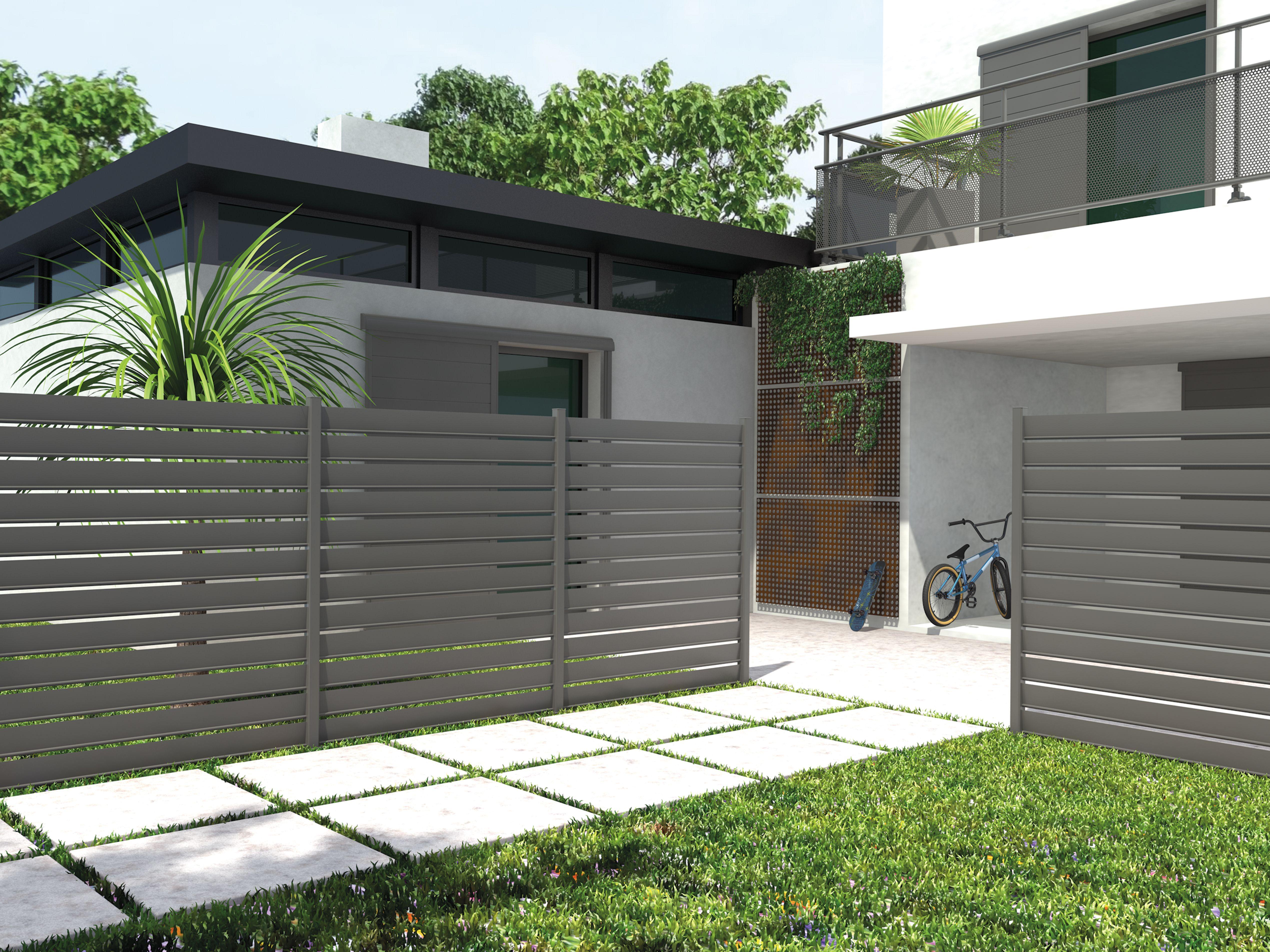 Pingl par portails aluminium sib sur claustra aluminium - Claustra coulissant ...