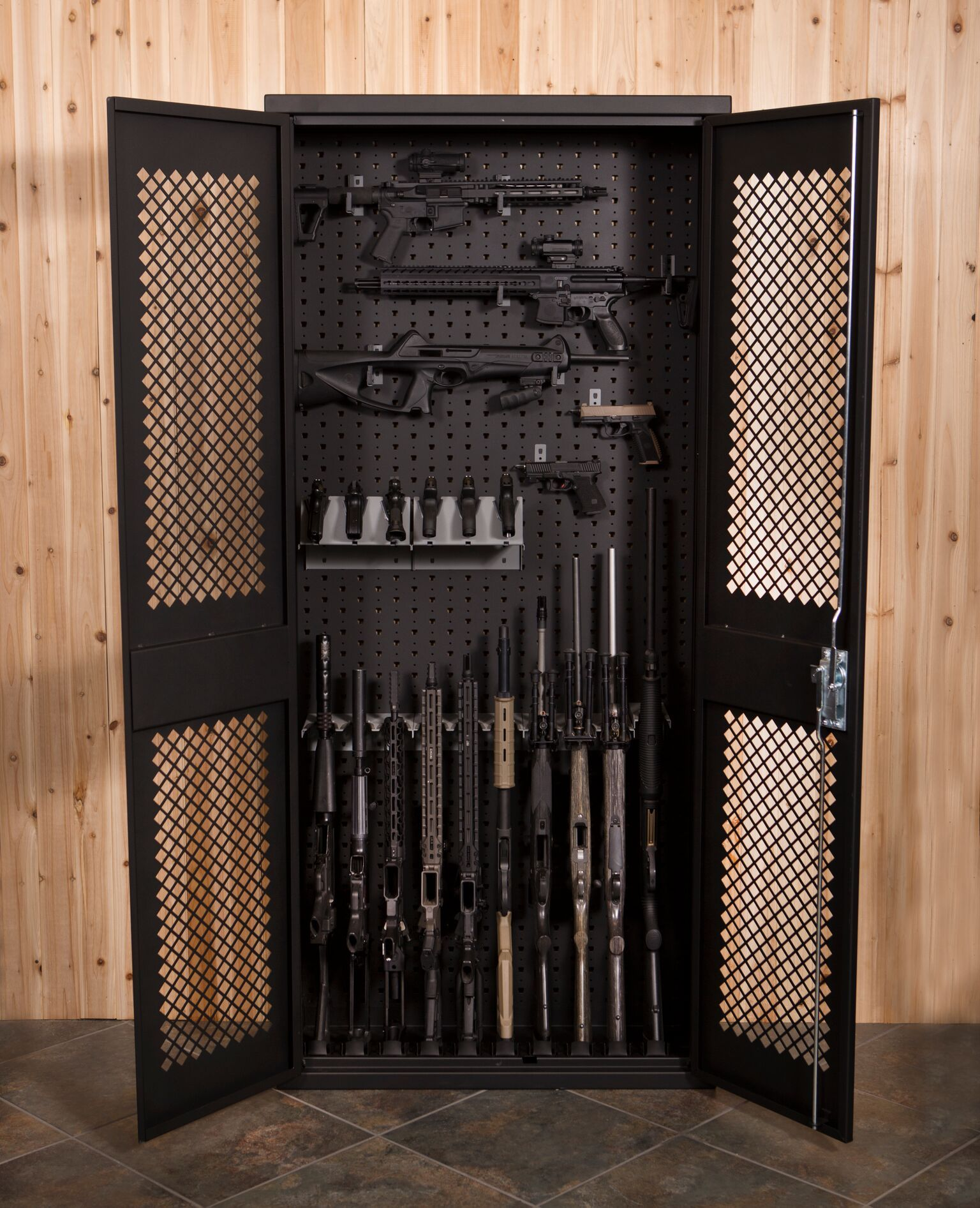 gun cabinet foam