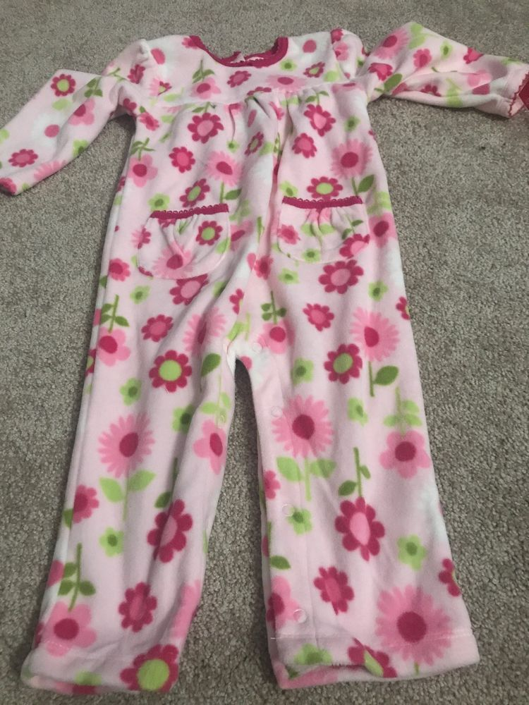 0e34d4482d94 Infant Girls Carters Pajamas One Piece 18 Months  fashion  clothing ...