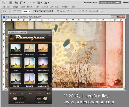 instagram type add on for photoshop