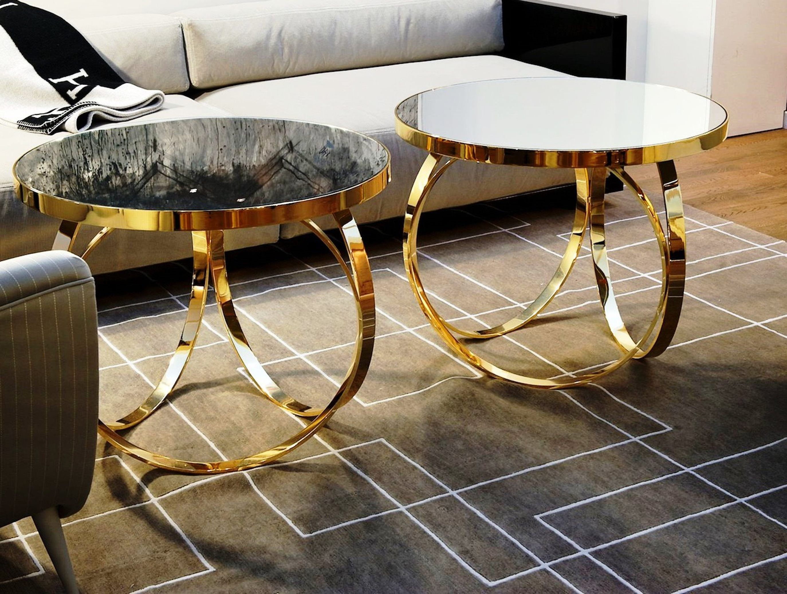 Best Of Luxury Discover More: Www.coffeeandsidetables.com |  #blackandgoldcoffeetables #circularcoffeetable. Coffee TablesFolding Chair