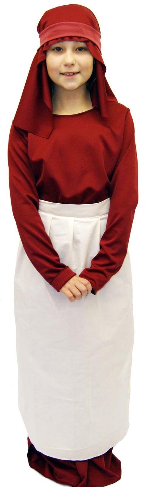 Childs Red Choir Boy Costume Religious Gospel Singer Fancy Dress