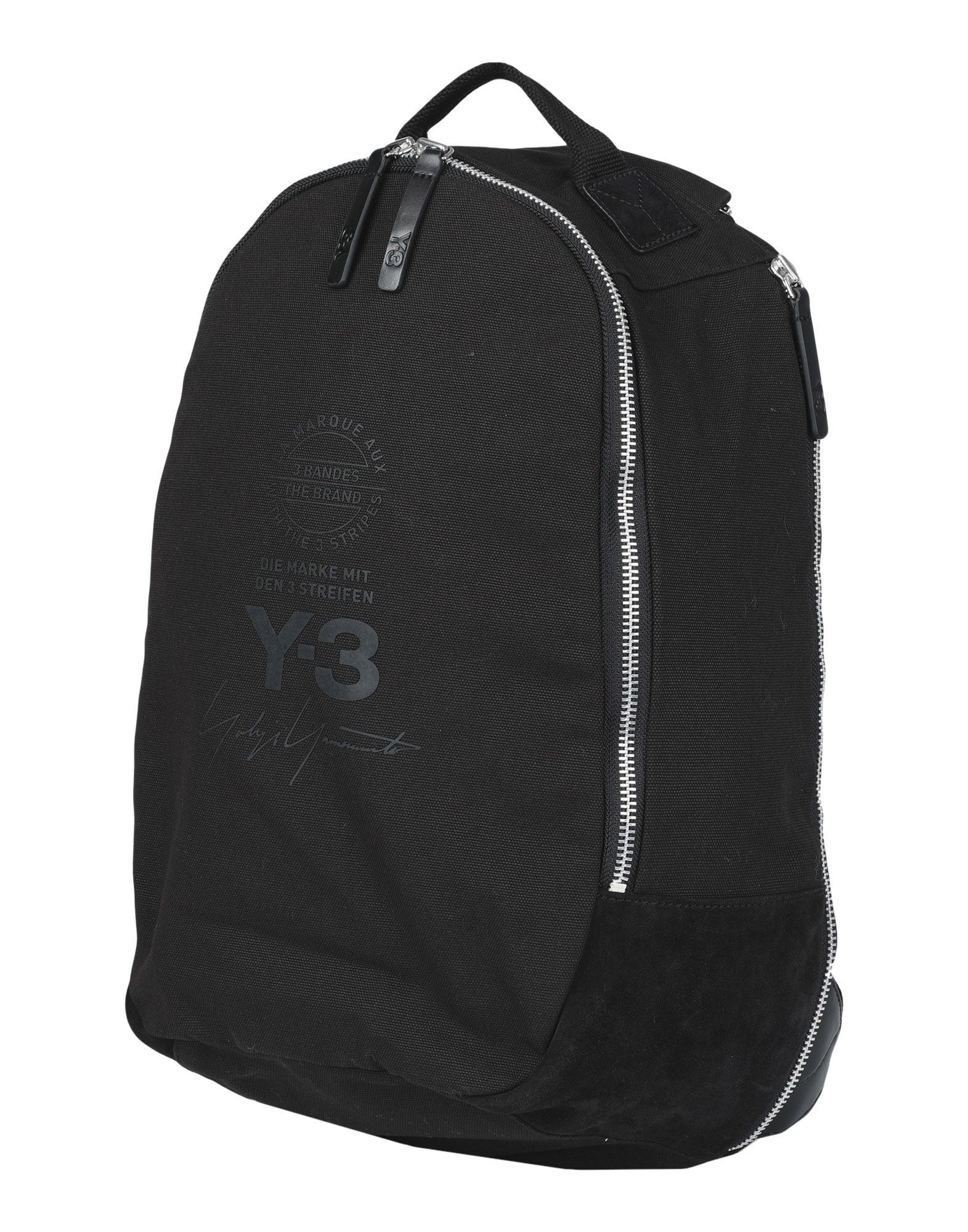 dfe8ca9dbf85 Y-3 BACKPACKS   FANNY PACKS.  y-3  bags  canvas  backpacks  suede  cotton
