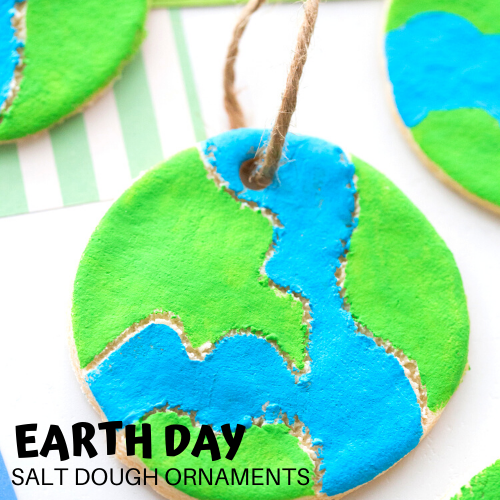 Earth Day Salt Dough Craft