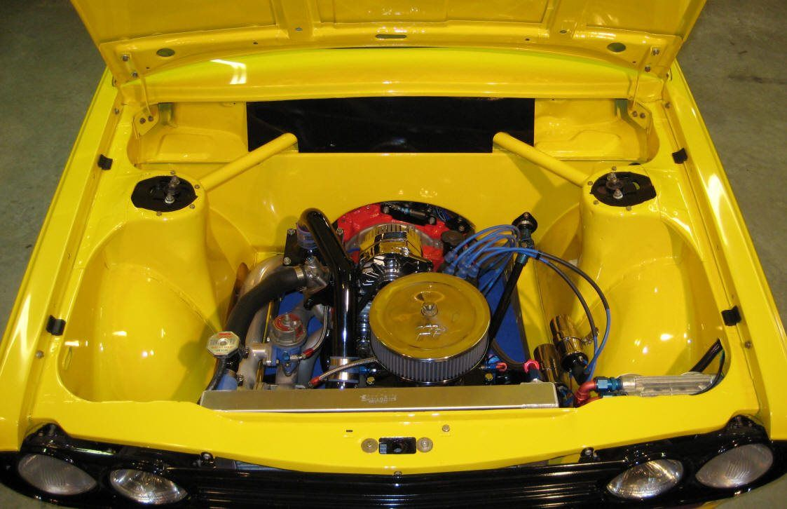 The yellow thing  A project built sometime ago  Datsun 510