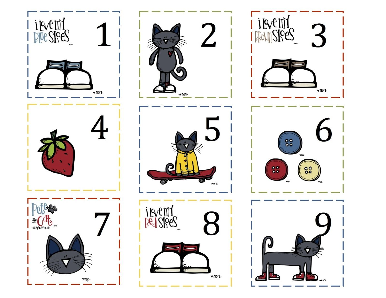 Preschool Printables Pete The Cat With Images