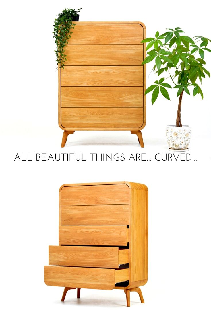 Wood Dresser Chest Of Drawers Mid Century Dresser Solid Wood Tall Dresser Cupboard Credenza Buffet Handmade Modern Oak Furniture In 2020 Wood Dresser Solid Oak Furniture Mid Century Dresser